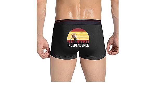 Adamitt Ciudad de la Independencia Bandera de España Ropa Interior de algodón para Hombres Pantalones Cortos Calzoncillos Calzoncillos Bragas: Amazon.es: Ropa y accesorios