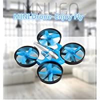 BDKJ Newest mini rc drone RH807 2.4G 6axis headless mode one key return anti fall full protect remote control helicopter kids RC toy
