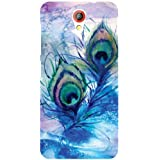 Printland Feather Phone Cover For HTC Desire 620G