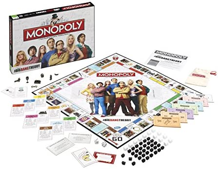 Big Bang Theory Monopoly Board Game: Amazon.es: Libros en idiomas extranjeros