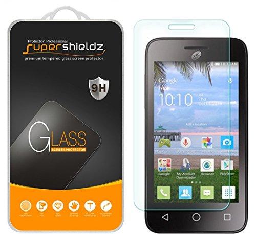 (2 Pack) Supershieldz for Alcatel Pixi Unite Tempered Glass Screen Protector, Anti Scratch, Bubble Free