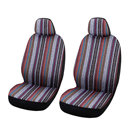 Universal Delux Baja Blanket Bucket Seat Covers Car Front Seats(2 Front Seats)