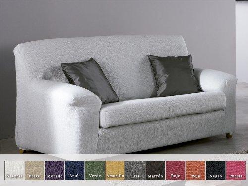 Eysa - Funda de sofá elástica moran, medidas 4 plazas, color ...