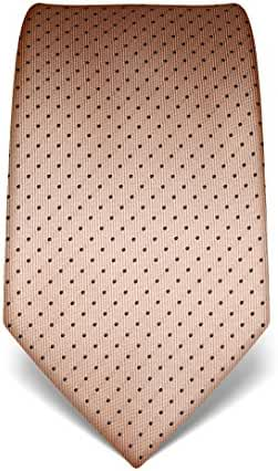 Vincenzo Boretti Men's Silk Tie - polka dot pattern - many colors available