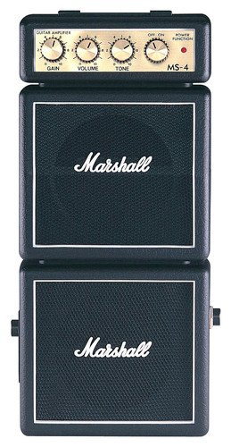 Marshall Mini Stack Series MS-4 not-so-mini Practice Guitar Amplifier by Marshall Amps