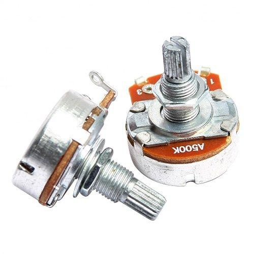 2pkg-guitar-potentiometer-a500k-24mm-base-dia-18mm-shaft-chrome
