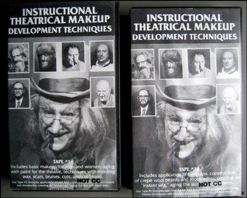 Instructional Theatrical Makeup Development Techniques Part 1 & -