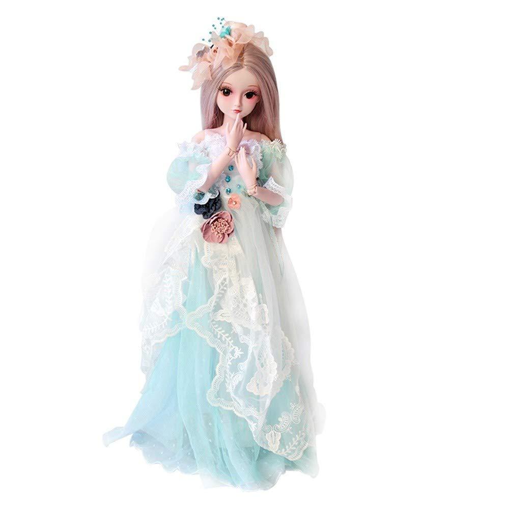 高い素材 Unpara ハンドメイド 24インチ BJD 24インチ 人形 SD 人形 D プリンセス プリンセス 花嫁 女の子 ギフト リアルな人形コレクション 無害素材 B07JNRX7XV D, 工藤自動車:cd0731fa --- beyonddefeat.com