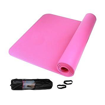 Yoga Colchoneta, Extra Gruesa, de 10 mm, Antideslizante ...