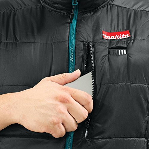 Makita DCV200ZL 18V LXT Lithium-Ion Cordless Heated Vest Only, Large, Black by Makita (Image #4)