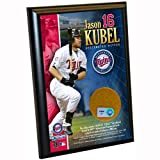 MLB Minnesota Twins Jason Kubel 4-by-6-Inch Dirt Plaque