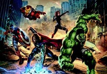 mural - Avengers Street Rage