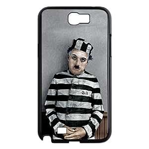 Samsung Galaxy N2 7100 Cell Phone Case Black Charlie Chaplin nnid
