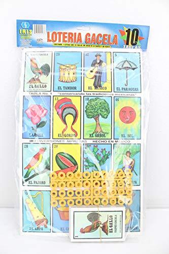 ジャンボ ロテリア メキシコ ファミリーセット 10枚ボード カード
