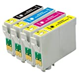 Vivamart:Remanufactured Ink Cartridges Replacement for EPSON T068 Set (B,C,Y,M) 4-PACK, Office Central