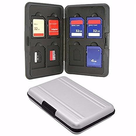 KRS - SD1 - Caja Tarjetas de memoria Aluminio Micro SD SDHC ...