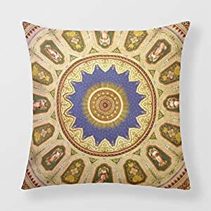 Throw Pillow Covers Oriental Ornamental 18 X 18 Pillow
