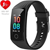 V16 Fitness Heart Rate Monitor Activity Tracker Smart Watch Health Smartwatch with Blood Pressure Sleep Tracker / Period Reminder / Steps Calories Pedometer Sports Watch IP67 Waterproof Color Screen