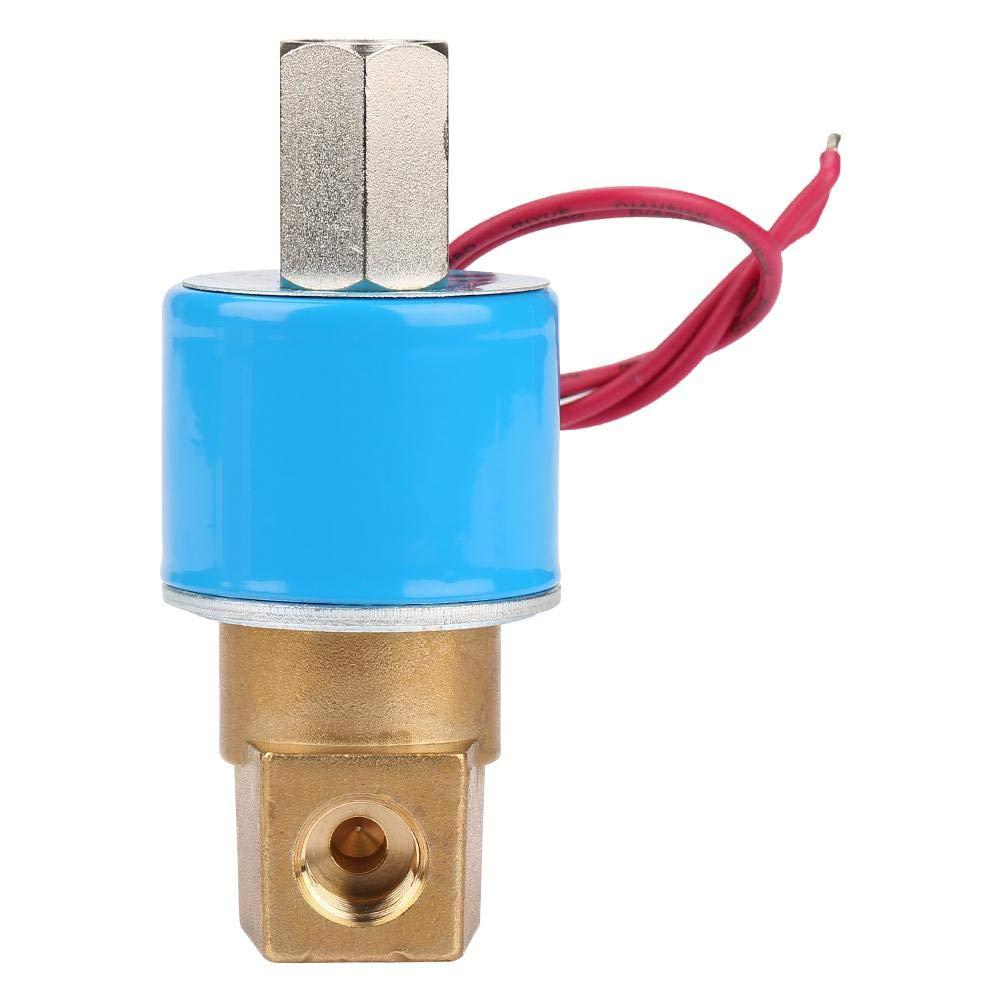 KSD-Magnetventil Gas G1 // 40-0,9 MPa 3-Wege-Magnetventil mit direkter Wirkungsweise Messing N//C Wasser Elektromagnetventil f/ür Wasser Luft DC12V