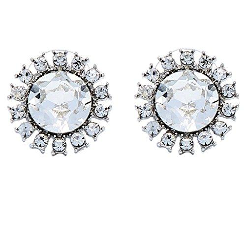 Earrings, Audrey Hepburn, Breakfast at Tiffany's, Imitation - Imitation Tiffany