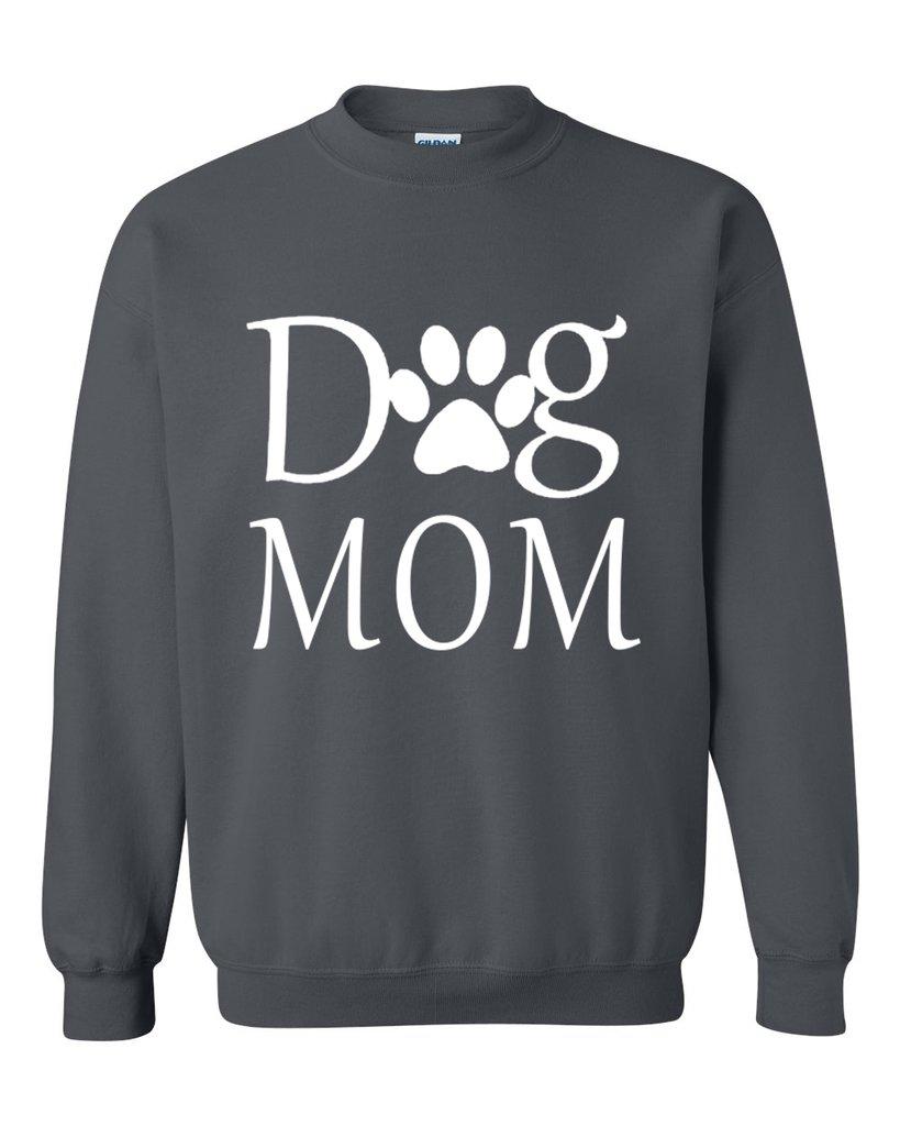 Acacia Dog Mom Paw Shelter Rescue Animal Unisex Crewneck Shirts