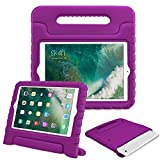 Fintie iPad mini 1/2/3 Kiddie Case - Light Weight Shock Proof Convertible Handle Stand Kids Friendly for Apple iPad mini 1/iPad mini 2/iPad mini 3, Purple