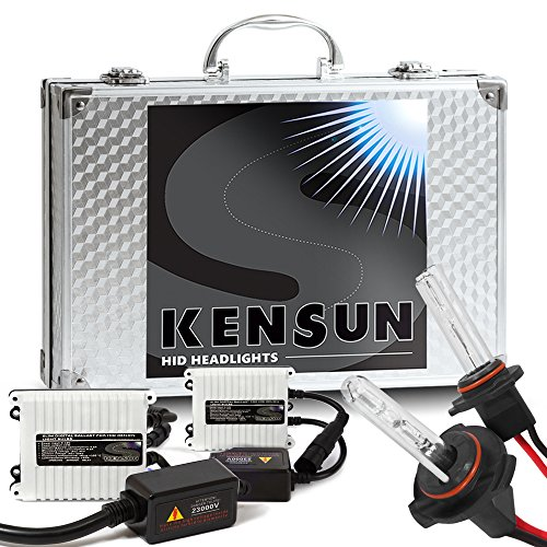 "55w Kensun HID Xenon Conversion Kit ""All Bulb Sizes and Colors"" with Digital Ballasts - 9006 (HB4) - 8000k"