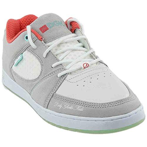 DGK Grey White Shoes Size 10.5 (Accel Shoe)