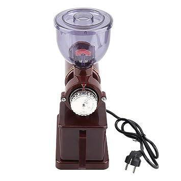 Molinillo eléctrico Molinillo de café Molinillo de café Molinillo profesional Molino de café Molino de grano de café Molino de molienda Enchufe de la UE 220 ...