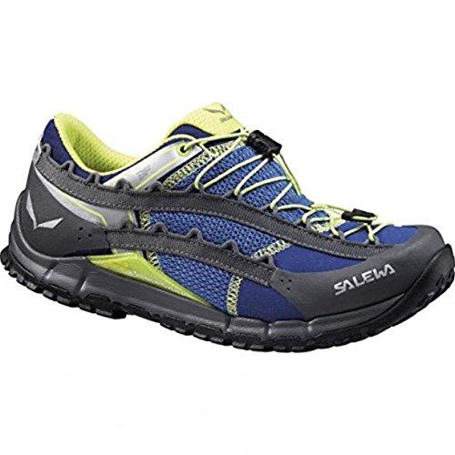 SALEWA Ws Speed Ascent, Zapatillas de Deporte Exterior para Mujer Azul / Negro   (Spectrum Blue / Smoke 2416)
