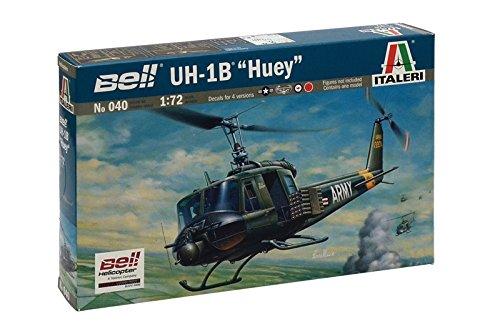 Italeri Models Bell UH-1B Huey Kit for sale  Delivered anywhere in USA