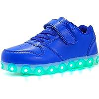 Aizeroth-UK LED Zapatos Verano Ligero Transpirable Bajo 7 Colores USB Carga Luminosas Flash Deporte de Zapatillas con…