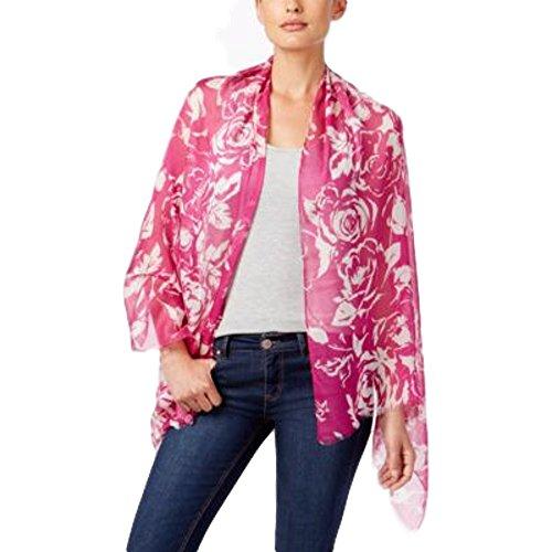 Lauren Ralph Lauren Deborah Oblong Scarf Exotic Pink ONE (Scarf Ralph Lauren Women)