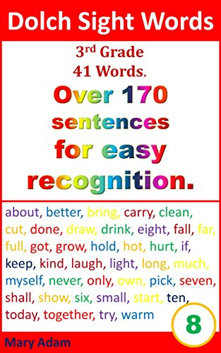 sight words for 3rd grade