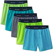 Fruit of the Loom Boys 5 Pack Knit Boxer