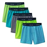 Fruit of the Loom Boys' Boxer Shorts, Knit - 5 Pack