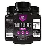 Natural Sleep Aid with Melatonin, Magnesium, GABA, and 5-HTP - Non Habit Forming Sleeping Pills - 30 Vegetarian Capsules