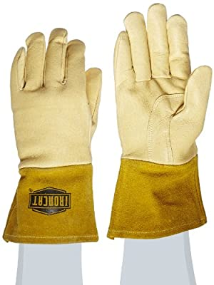 IRONCAT 6020/L Insulated Top Grain Pigskin MIG Leather Welding Gloves