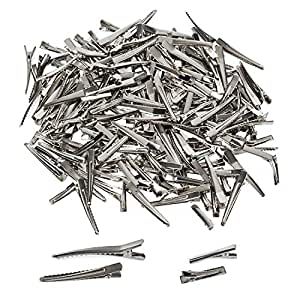 CoverYourHair Alligator Hair Clips - 200 Pc Set - Sectioning Clips - DIY Hair Clips - Craft Clips - 3 cm and 6 cm Clips - Hair Styling Clips - Prong Hair Clips - Clips for Bows - Hairdressing Clips