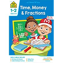 Time Money & Fractions, Grades 1-2, an I Know It! Book by Barbara Bando Irvin (2014-06-06)