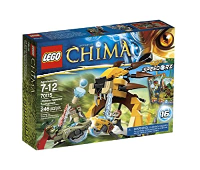 Lego Chima Ultimate Speedor Tournament 70115 by LEGO