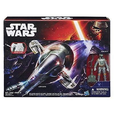 Star Wars Slave I with Boba Fett: Toys & Games