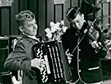 "Vintage photo of Gilmer Elving and Lasse Kallmyr appear in""The Corner of the Shelf"""