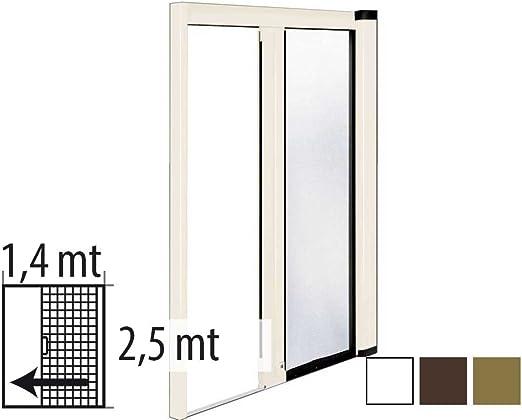 Mosquitera enrollable de 1,4 x 2,5 metros por puerta: Amazon.es: Hogar