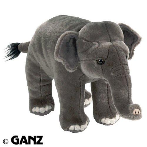Webkinz Endangered Signature Asian Elephant with Trading Cards ()
