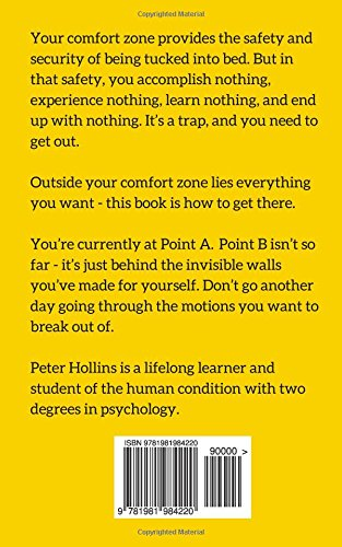 The science of breaking out of your comfort zone how to live the science of breaking out of your comfort zone how to live fearlessly seize peter hollins 9781981984220 amazon books fandeluxe Gallery