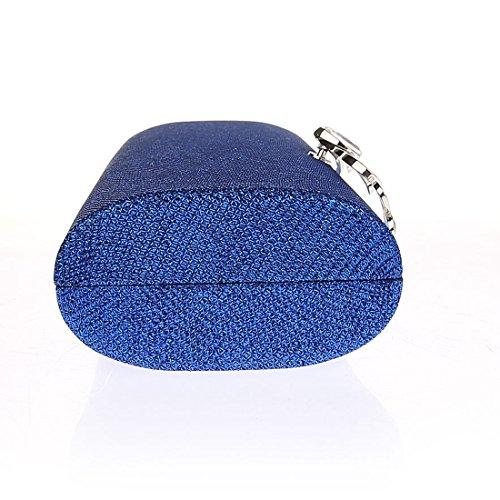 Pochette KAXIDY Mariage Sac Main Soirée de Soirée Partie Bleu Rhinestone Sac à Mariage Sacs Zw5xBafw