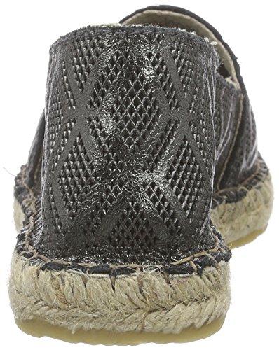 Buffalo 101504 Laminado, Women's Espadrilles Grey - Grau (Bronce 01)