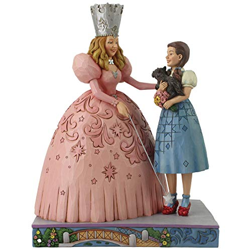 The Wizard Of Oz Glinda (Enesco Wizard of Oz by Jim Shore Glinda and Dorothy with Ruby Slippers)