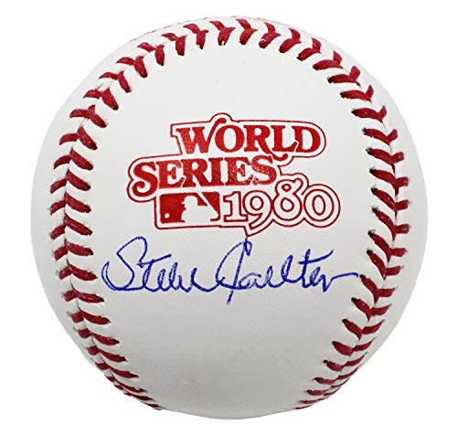 (Steve Carlton Signed Rawlings 1980 World Series (Philadelphia Phillies) Baseball)